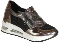Guja - Guja 18Y402 Ortopedi Gümüş Günlük Bayan Spor Ayakkabı