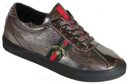 Guja - Guja 18Y406-3 Ortopedi Gümüş Günlük Bayan Spor Ayakkabı