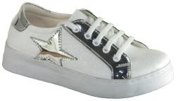 ISPARTALILAR - Happy Box Ortopedi Beyaz Kız Çocuk Spor Ayakkabı (26-35)