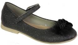 Vetta - Happy Box Ortopedi Beyaz Siyah Kız Çocuk Babet Ayakkabı (21-36)