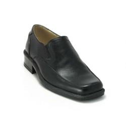 ISPARTALILAR - Hüner Erkek Çocuk Deri Günlük Klasik Bağsız Okul Ayakkabı