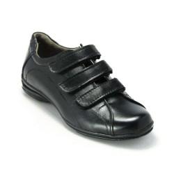 ISPARTALILAR - Isp Erkek Çocuk Günlük Klasik Cırtlı Cilt Kaymaz Taban Okul Ayakkabı