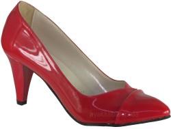 ISPARTALILAR - Ispa 101 Rugan Kırmızı Bayan Topuklu Ayakkabı (36-40)