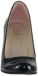 Ispa 11 Rugan Lacivert Bayan Kısa Topuklu Ayakkabı (36-40) - Thumbnail
