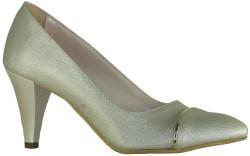 ISPARTALILAR - Ispa 13 Bakır Bayan Kısa Topuklu Ayakkabı (36-40)