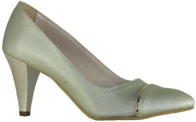 Ispa 13 Bakır Bayan Kısa Topuklu Ayakkabı (36-40)