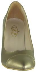 Ispa 13 Rahat Bakır Bayan Kısa Topuklu Ayakkabı (36-40) - Thumbnail