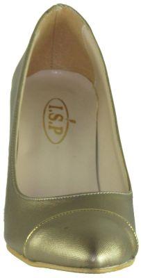 Ispa 13 Rahat Bakır Bayan Kısa Topuklu Ayakkabı (36-40)