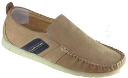 ISPARTALILAR - Ispa 290 Rahat Taban Bej Deri Erkek Günlük Ayakkabı (40-44)