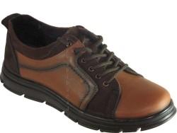 ISPARTALILAR - ıspa 555 Rahat Taban Kahve Deri KISLIK Erkek Ayakkabı Bot