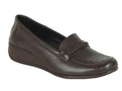 ISPARTALILAR - Isp.a 8976 Ortopedi Doğal Deri Bayan Günlük Deri Ayakkabı