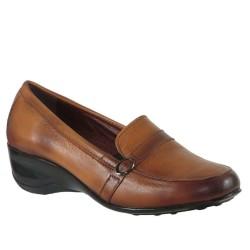 ISPARTALILAR - Isp.a 8976 Ortopedi Doğal Deri Günlük Hakiki Deri Bayan Ayakkabı
