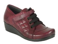 ISPARTALILAR - Isp.a 8976 Ortopedi Doğal Hakiki Deri Bayan Günlük Deri Ayakkabı