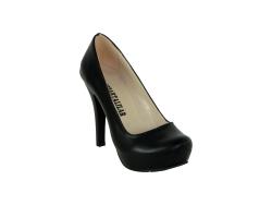 ISPARTALILAR - Ispartalılar 321-6 Deri Cilt Bayan Platform Topuk Ayakkabı