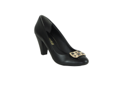 ISPARTALILAR - Ispartalılar 789 Rahat Taban Cilt Deri Bayan Topuklu Ayakkabı