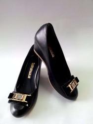ISPARTALILAR - Ispartalılar Bayan Dolgu Topuk Yarı Ortapedi Günlük Ayakkabı