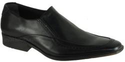 ISPARTALILAR - Ispartalılar Hakiki Deri Siyah Erkek Klasik Ayakkabı (40-44)