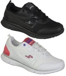 Jump - Jump 21163 Günlük Siyah Beyaz Bayan Spor Ayakkabı (36-40)