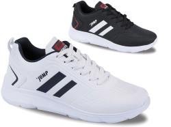 Jump - Jump 24068 Ortopedi Rahat Beyaz Erkek Spor Ayakkabı (40-45)