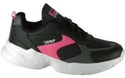 Jump - Jump 24079 Ortopedi Siyah Günlük Yürüyüş Kadın Spor Ayakkabı (36-40)