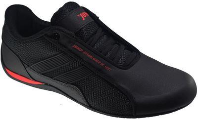 Jump 24860 Ortopedi İnce Taban Siyah Erkek Spor Ayakkabı (40-45)