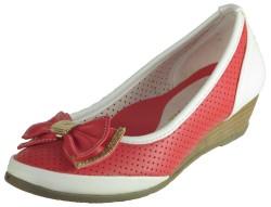 ISPARTALILAR - KAMPANYALI DSN 34 Nar Çiçeği Hafif Dolgu Kız Çocuk Ayakkabı