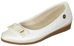 ISPARTALILAR - La Moor Ortopedi Günlük Bayan Beyaz Babet Ayakkabı (36-40)