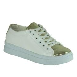 ISPARTALILAR - Laa Moor 25 Ortopedi Yürüyüş,Günlük Beyaz Bayan Günlük Ayakkabı