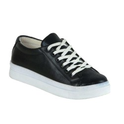ISPARTALILAR - Laa Moor 25 Ortopedi Yürüyüş,Günlük Siyah Bayan Günlük Ayakkabı