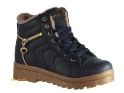 ISPARTALILAR - Lennox 200 Lacivert Bordo Bayan Düz Taban Bot Ayakkabı
