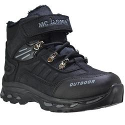 Marco Jamper - Marco Jamper 1833 Rahat Siyah Çocuk Erkek Bot Ayakkabı (31-35)