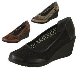 Mavişim - Mavişim 22 Dolgu Taban Siyah Bayan Günlük Ayakkabı (36-40)
