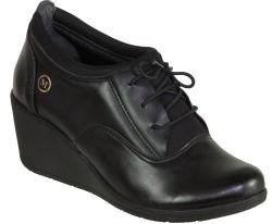 Mavişim - Mavişim Ortopedi Günlük Dolgu Taban Bayan Siyah Ayakkabı (36-40)