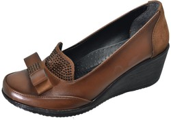 Mavişim - Mavişim 33 Dolgu Taban Kahverengi Kadın Günlük Ayakkabı (36-40)