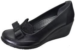 Mavişim - Mavişim 33 Dolgu Taban Siyah Kadın Günlük Ayakkabı (36-40)
