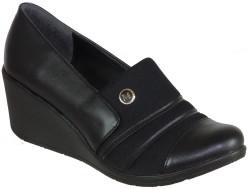 Mavişim - Mavişim Ortopedi Dolgu Taban Siyah Bayan Günlük Ayakkabı (36-40)