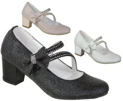 ISPARTALILAR - Mini Women Abiye Düğünlük Kız Çocuk Topuklu Ayakkabı (26-36)