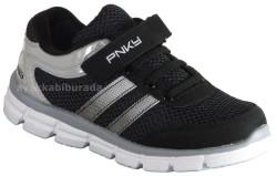 Pinokyo - Pinokyo 1090 Ortopedi Siyah Erkek Çocuk Spor Ayakkabı (26-35)