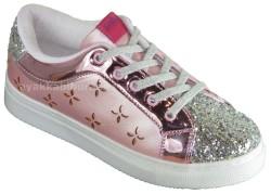 Pinokyo - Pinokyo 1207 Ortopedi Pembe Kız Çocuk Spor Ayakkabı (30-35)