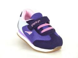 Pinokyo - Pinokyo 2107 Ortopedi Taban Unisex Cırtlı Çocuk Spor Ayakkabı