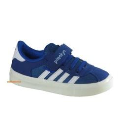 Pinokyo - Pinokyo 2131 Mavi-Mor Çocuk Erkek Spor Kız Spor Ayakkabı