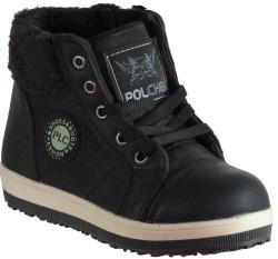 ISPARTALILAR - Polchek Ortopedi Kaymaz Taban Kız Çocuk Bot Ayakkabı