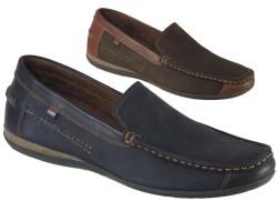 ISPARTALILAR - Rekırs 102 Hakiki Deri Lacivert Günlük Erkek Ayakkabı (40-44)