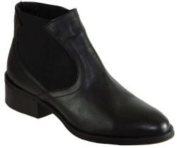 Riccardo Colli - Riccardo Colli 8850 Hakiki Deri Siyah Bayan Bot Ayakkabı (36-40)