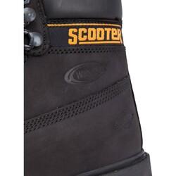 Scooter 5130 Ortopedi Kaymaz Nubuk Deri Su Geçirmez Unisex Bot - Thumbnail