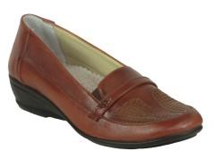 ISPARTALILAR - Selena 225 Ortopedi Taban Bayan Günlük Deri Ayakkabı