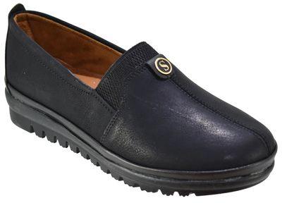 Selena 32 Ortopedik Siyah Mevsimlik Bayan Günlük Ayakkabı (36-40)