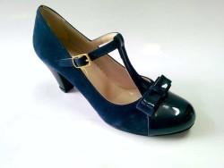 ISPARTALILAR - Shoes Bayan Topuklu Yarı Nubuk Yarı Rugan Günlük Ayakkabı