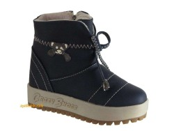 ISPARTALILAR - Starkids Lacivert Rahat Kışlık Kız Çocuk Bot Ayakkabı 26-30 arası