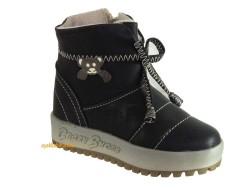 ISPARTALILAR - Starkids Siyah Rahat Kışlık Kız Çocuk Bot Ayakkabı 26-30 arası